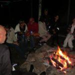 Bij het kampvuur