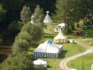 Zomerweken festival tenten | De zomerweken van VakantieAnders