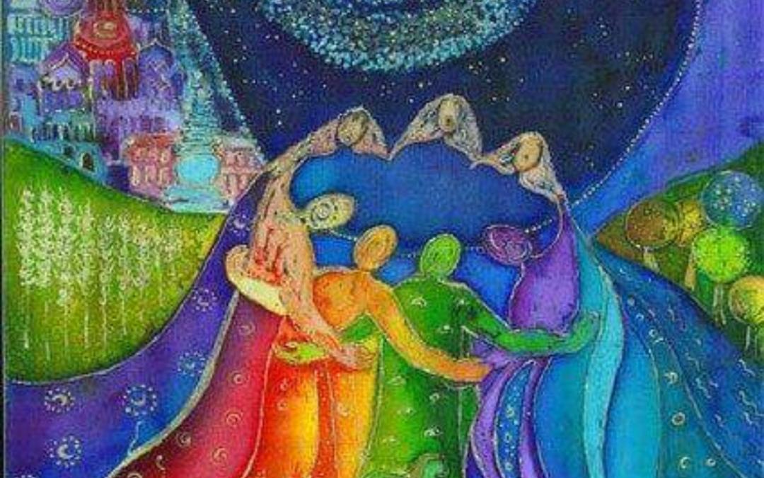 Vier het vrouw zijn op de godinnenavond