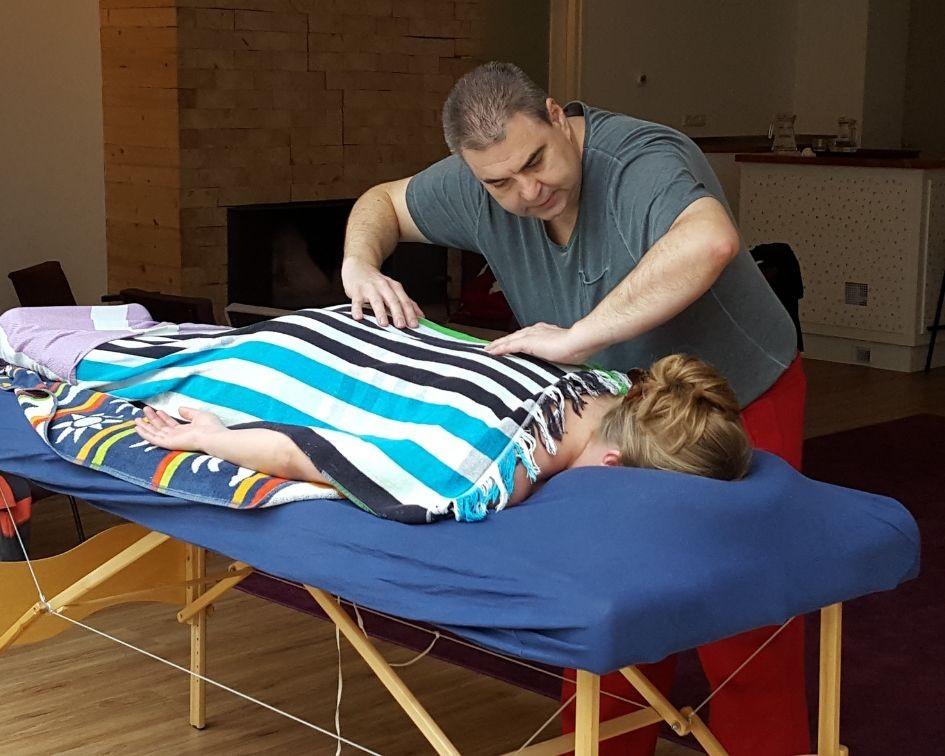 Massage weekenden VakantieAnders